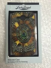 NEW AUTHENTIC OEM Lucky Brand Feather x Galaxy S3  HardShell Case Feather