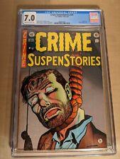 Crime SuspenStories #20 CGC  7.0 E.C. Comics Classic HTF in this grade.