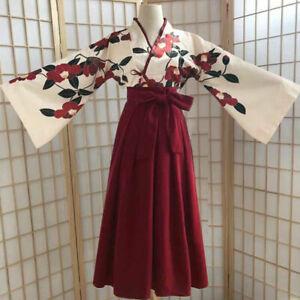 Women's Dress Hanfu Ancient Costume Dance Costumes Flower Tops Skirt  Pcs Suit