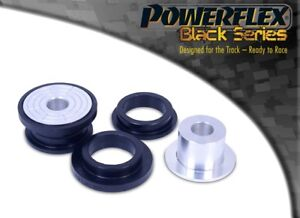 For Seat Leon & Cupra R Mk1 Powerflex BLACK Frt Subframe Rr Bushes PFF85-424BLK