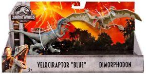 Jurassic World Fallen Kingdom Velociraptor Blue & Dimorphodon Action Figure