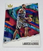 2019-20 Panini Court Kings LAMARCUS ALDRIDGE  San Antonio Spurs #58