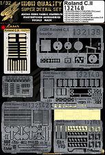 132148 HGW Super Detail set - Roland C.II 1:32