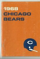 1968 Chicago Bears Football Media Guide, Gale Sayers Dick Butkus GOOD