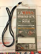 LA KISS Owner's Box VIP Pass