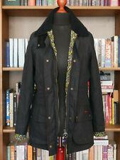 £219 Ladies Barbour Hope Beadnell smart navy wax jacket UK 10 US 6 EU 36 Liberty