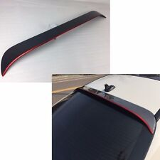 Carbon + RED LINE FOR BENZ CLA W117 4DR Window OE ROOF Spoiler CLA250 CLA180