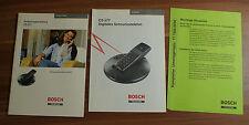 Bedienungsanleitung Schnurloses Telefon Bosch Telecom CS577