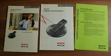 Manuale d'uso Telefono Cordless Telecom BOSCH cs577 (b3)
