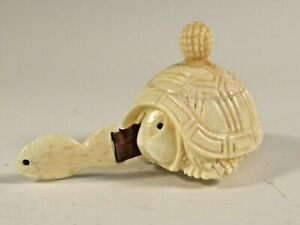 CARVED TURTLE SEWING TAPE MEASURE