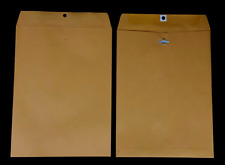 10 X 13 28 Brown Kraft Open End Catalog With Metal Clasp Various Quantities