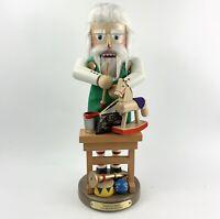 """Steinbach Santa Toy Maker Christmas Nutcracker 17"""" ES1928 - No Box"""