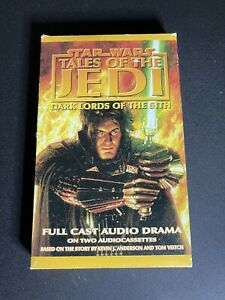 Star Wars Tales of the Jedi: Dark Lords of the Sith Audio Drama Cassette Tape