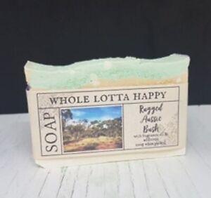 4 Pack Handmade ~ RUGGED AUSSIE BUSH ~ Soap Bars LIMITED EDITION AUSTRALIAN MADE