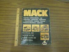 MACK Manual De Servicio De Vehiculos De Carretera TS442 *USED*