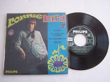EP 45 T VINYL 4 TITRES , RONNIE BIRD , LE PIVERT . VG + / EX .