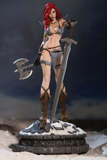 Dynamite NIB * Red Sonja * Diamond Eye Fantasy Statue Conan Limited Ed Figurine