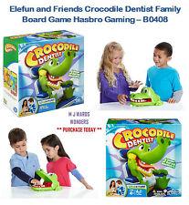 ELEFUN e Gli Amici Coccodrillo DENTISTA Gioco da tavolo famiglia Hasbro Gaming-b0408