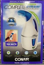 Conair Complete Steam Hand Held Fabric Steamer Portable for Travel