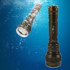 SKYRAY 8000Lm Scuba Diving 5x CREE XM-L2 LED Flashlight Torch Waterproof Light