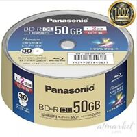 Panasonic Recording Blu-ray D50GB write-once type spindle 30 sheets LM-BRS50P30