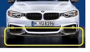 Genuine BMW M Front Bumper spoiler Splitter Carbon 4 F32 F36  51192408993 UK