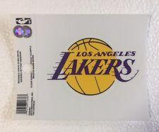 "LA Los Angeles Lakers 3"" x 4"" Small Static Cling Truck Car Window Decal NEW NBA"