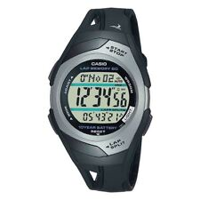 Casio Mens Wrist Watch 60 Lap Memory Timer Digital Resin Case & Band Sport