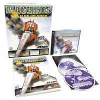 Machines for PC CD-ROM in Big Box by Acclaim Entertainment, 1999, CIB, VGC