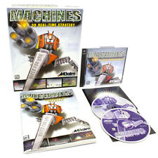 Machines for PC CD-ROM in Big Box by Acclaim Entertainment, 1999, CIB, VGC