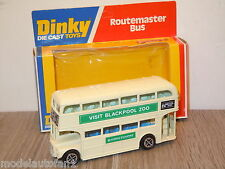 Routemaster Bus Visit Blackpool Zoo van Dinky Toys 289 England in Box *15741