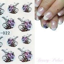 Nailart Sticker Blume Nagelsticker Nagelaufkleber Nagel Tattoo French Nails S022