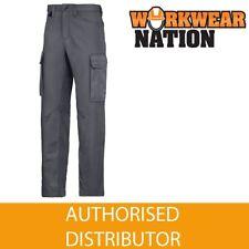 Pantaloni da uomo grigie regolare in cotone