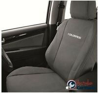HOLDEN Colorado RG Front Seat Canvas Covers Genuine New 2012-2018 accessories