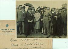 Z11788-BUSTA CON FOTO ORIGINALE, ADUNATA DEI CAVALIERI D' ITALIA ROMA 18/5/1930
