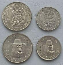 Peru 5+10 Soles 1972-1975 p257/p267 + p258 unz.