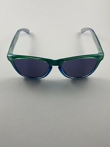 Oakley Frogskins Marine Fade Blue Iridium 24-237 RARE