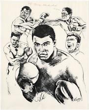 Muhammad Ali signed autographed 8x10 photo! RARE! Guaranteed Authentic!