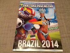 Rafo World Cup Brazil 2014 football sticker album / unused