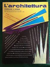 Rivista L'ARCHITETTURA Cronache e storia n. 404 giugno 1989 Bruno Zevi