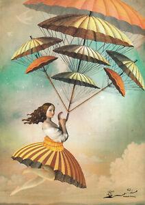 Postkarte: Catrin Welz-Stein - Acht der Stäbe