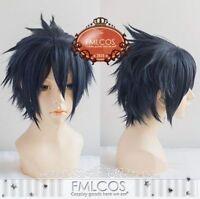 Final Fantasy XV 15 Noctis Lucis Caelum Anime Costume Wig + Hair Cap Cosplay Hot