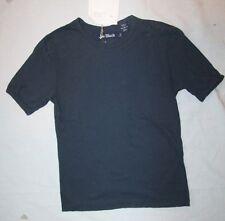 ORIGINAL JOE BLACK  Tee shirt    bleu marine uni  8 ans neuf