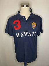 Robin Ruth HAWAII #3 New Red Sewn Rugby Jersey Polo Shirt Patch Men's XL