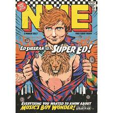 NME - Ed Sheeran Cover And Super Ed Special - One Day Publication Only