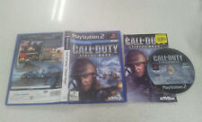 Call of Duty Finest Hour PS2 Game PAL