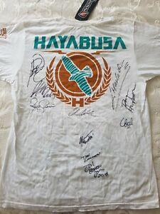 UFC Autographed T Shirt Multiple Fighters
