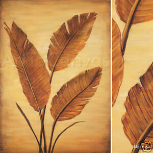 """24W""""x31H"""" TREASURED PALM II by DAVID PARKS - FLORAL CANVAS"""