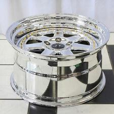 16x8 JNC 048 4x100 25 Platinum. Wheel New set(4)
