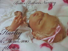 FULL LIMBS REBORN BABY GIRL HARLEY BY MELODY HESS LIMITED #88/500 WORLDWIDE